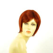 Parrucca donna corta rame intenso: FANNY 350