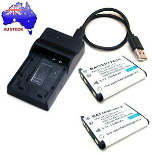 Battery / USB Charger For Olympus FE-3010 FE-4000 FE-4010 FE-4030 FE-4050 New