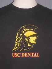 USC Trojans Dental School Adult Large Black T-Shirt (L Dentist Doctor Department