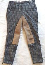 Damen Reithose,Vollbesatz,schwarz braun karo,Gr.44 Cama Design, UVP109€ (16)
