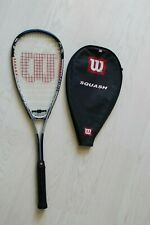 Wilson Tour Titanium Squash Racket with Frame Stabilizers & Cover Good Condition