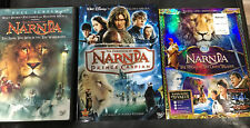 The Chronicles Of Narnia Trilogy 3 Movies Lot: Voyage Of Dawn Treader Blu-ray