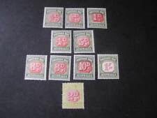 Australia Stamps Postage Due Lot 13