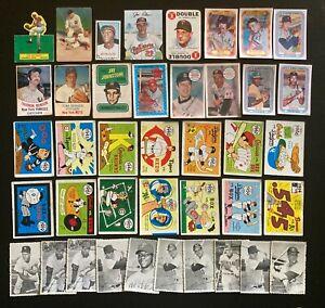 Vintage Baseball  40 Card Lot - Nice Variety Tom Seaver, Thurman Munson & More