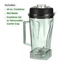 64 oz Blender Container & Wet Blade Replacement Jar Vitamix C-Series 5200, 500 +