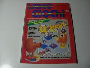 RIVISTA VIDEOGIOCHI & COMPUTER Editore Jackson N 10 DICEMBRE 1983 VEDI INFO FOTO
