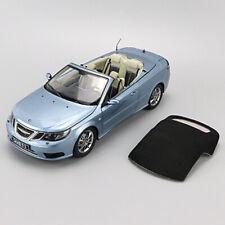 Original 1/18 SAAB 93 CONVERCIBLE Sports Car Diecast Car Model Collection Blue