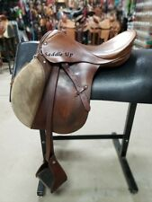 "17.5"" USED STUBBEN SIEGFRIED ENGLISH SADDLE 3-1405-3"