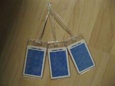 Pan Am Luggage Tags - Vintage Pan American Airlines Playing Card Name Tag Set 3