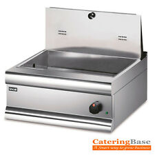 Commercial Electric Chip Scuttle Food Warmer 600Wx600Dx265Hmm @NEXT DAY DELIVERY