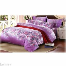 Raschel 4-Pieces Bedsheet Set (Multicolor) ZYW
