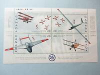 CANADA AIRPLANE BLOCK OF 4 - #1807 MNH - Canadian Air Show 50th Ann