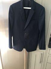De Fursac Blue Wool Suit