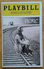 Picnic Broadway Playbill programme Roundabout Theatre Company 1994