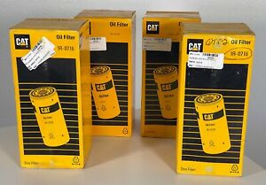 Caterpillar CAT 1R-0716 Spin-On Oil Filter 4 PACK FREE USA SHIPPING