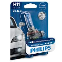 Philips H11 12V 55W PGj19-2 WhiteVision Xenon Effect 3700K 1 Stück 12362WHVB1