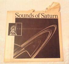Sounds Of The Planet Saturn-Plasma Wave Team Fred Scarf, Don Gurnett, Bill Kurth