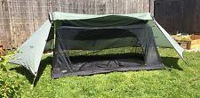 Vintage WALRUS TREKKER TARP w/ Mesh Insert 4.8Lbs Tent Shelter RARE moss msr