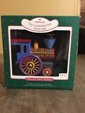 1988 Hallmark Tin Locomotive 7th in Series Christmas Train NIB