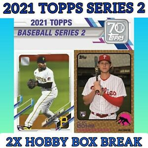 Colorado Rockies 2021 Topps Series 2 Baseball 2 Hobby Box Break