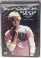 Jesse McCartney Live-The Beautiful Soul Tour  5.1 LIVE IN CALIFORNIA - Like New