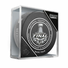 VEGAS GOLDEN KNIGHTS WASHINGTON CAPITALS 2018 Stanley Cup GAME 4 OFFICIAL PUCK