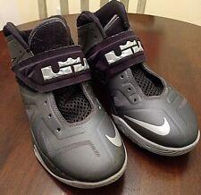 6535b5821db6 Nike Lebron James Zoom VII Soldier Dark Grey Youth Sz 6 EUC Basketball Shoes