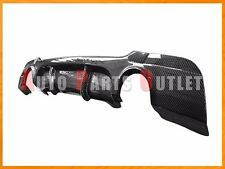 P Style Carbon Fiber Rear Diffuser 07-13 BMW E92/E93 328i 335i Coupe/Convertible