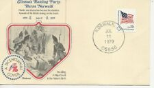 US Army Comm/FDC -  Clinton's Raiding Party Burns Norwalk - 1979 (415)