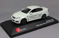 J Collection Lexus IS-F ISF Jarno Trulli Nurburgring Taxi 2009 JC101 1/43 NEW
