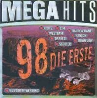 Mega Hits 98-Die Erste Down Low, Bell/Book/Candle, Scooter, Bbe, Westba.. [2 CD]