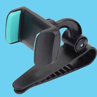 For Iphone GPS Holder Car Clip Brand 360 Degrees Sun Visor Cell Phone Holder LI