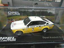OPEL C Kadett GT/E Rallye Monte Carlo 1978 #7 Kulläng Euro Händler IXO NEU 1:43
