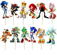 SONIC THE HEDGEHOG  CUPCAKE CAKE TOPPER party balloon decoration supplies