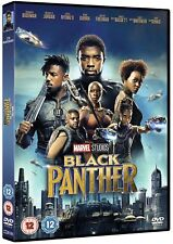 Black Panther Marvel 2018 Cert 12 Region 2 DVD