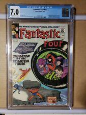 Fantastic Four #38        GRADED  CGC 7.0 -- 1965 -- Frightful Four