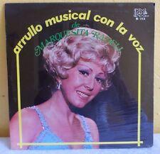 MARQUESITA RADELL ARRULLO MUSICAL CON LA VOZ DE MEXICAN LP STILL SEALED BOLERO