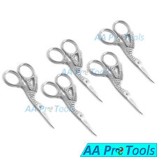 5 - Bird Scissor Eyebrow Shaping Embroidery Nose Mustache Trimming Shears