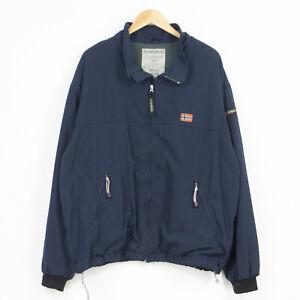 Napapijri Cordura High tech Jacket Waterproof Breathable Mens Size XXL