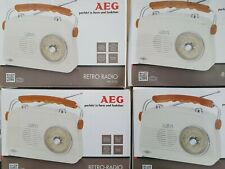 AEG Retro Radio Ukw/mw Nr 4155 creme