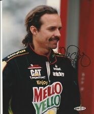 KYLE PETTY SIGNED 8x10 COLOR PHOTO RACE CAR DRIVER UPPER DECK AUTHENTICATED UDA