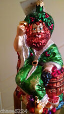 """Christopher Radko """" GHOST OF CHRISTMAS PRESENT"""" LIMITED EDITION Vintage 1999"""
