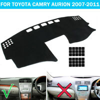 Car Dashboard Cover Dashmat Sun Dash Mat Pad For Toyota Camry Aurion 2007-2011