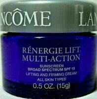 Lancome Renergie Lift Multi-Action Lifting Firming Day Cream SPF15 .5 oz nwob l3