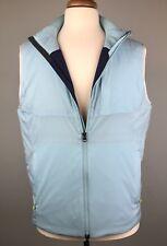 Peter Millar Blue Insulated Vest Size M Crown Sport 3DeFX Stretch Lightweight