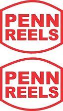 Penn Reels Stickers 2 x 280 x 240 Avery Marine Grade Material
