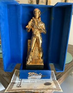 Elvis Gold 77 Ultimate Tribute Decanter