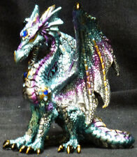 Small  BLUE JEWELED DRAGON  Jeweled    H4.5""