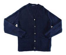 Polo Ralph Lauren Elbow-Patch Linen Men's Cardigan XL NEW