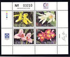 MICRONESIA Sc 230 NH ISSUE OF 1995 - SOUVENIR SHEET - FLOWERS